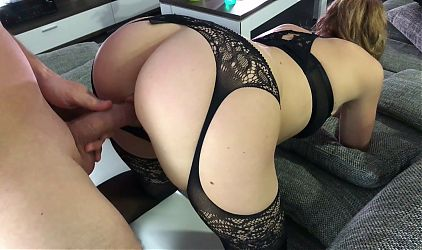 Anal amateur wife wants big dick in her tight virgin ass